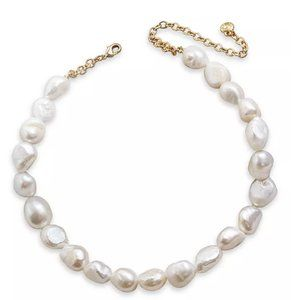 Baublebar Natural Pearl Statement Necklace